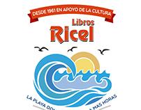 Libros Ricel - Nueva ilustración para local y bolsas