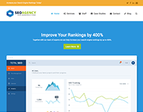 SEO Service Agency Website Design