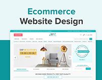 UI/UX Design for Ecommerce website