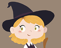 Little Witch | illustration