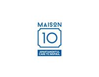 MAISON 10 - visual identity