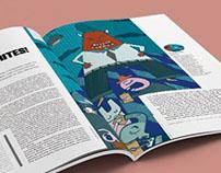 Ilustración para Tec Review, Grupo expansión 2017