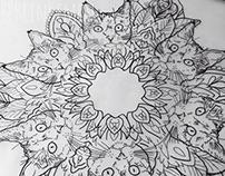 """""""Cat Mandala""""- 2014"""