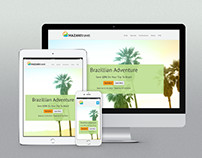 Mazani Travel Responsive Web Design