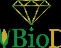 Logótipo para uma Padaria/Pastelaria BioDiamante