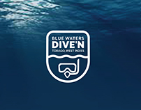 Branding: Blue Waters Inn Dive, Tobago