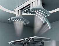Halo Conceptual Surgical Light System