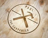 Logo, stationery and website for Paul the Carpenter