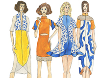 Matisse Inspired Day Dress Collection S/S 2016