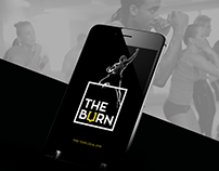 THE BURN - UI APP DESIGN