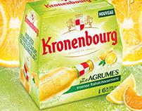 La nouvelle Kronenbourg au jus d'agrume !