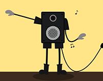 Speaker-man