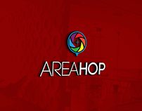 AREAHOP Logo design for Local Discovery Engine
