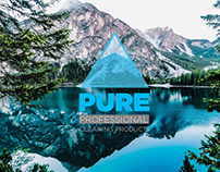 Logo design for Pure