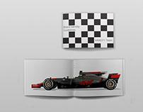 HAAS F1 Team Branding Book