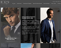 Web design | Mode Horsy boutique
