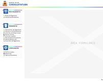 Proposta Interface - Portal do Servidor