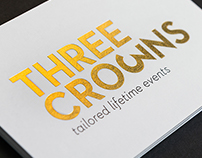 THREE CROWNS tailored lifetime events