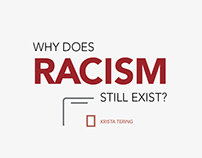 RACISM? Part 1: Reasons (Graphic Design)