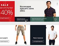 Fashionmix.eu - redesign web store / concept /