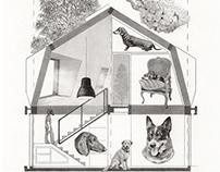 """Ilustraciones para el libro """"Arquitectura a la inversa"""""""