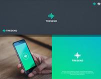 Tresend-Logo & Braning