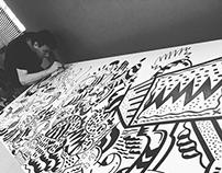 Mural -  Web SCOUTER / SP - Tatuapé