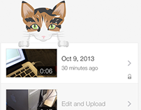YouTube Capture Cat Illustrations