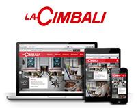 La Cimbali responsive website