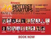 SBR 20 Hottest StartUps 2017 - Online Banners