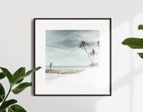 Square poster frame mockup set vol.01 [Free]