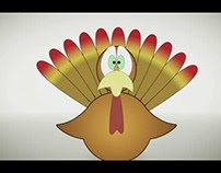 Tom Turkey Gets His Close-Up