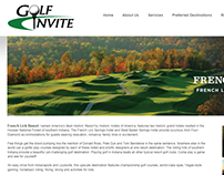Golf Invite Website