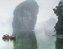 Serene in Ha Long Bay