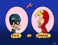 A-Tv's Mightiest Heroes: Beavis & Butthead mashup