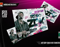 Hip-Hop Star Flyer Template