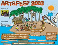 Castaway Cove artwork for ArtsFest