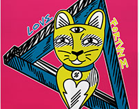 Love, Fortvne and cat