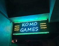 Komogames Branding