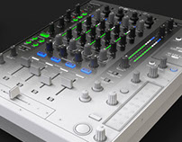 DJ club mixer