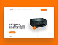 Imprimerie Encre Vaudreuil - UX & UI Design