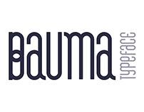 BAUMA typeface