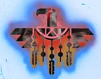 ESC. Stencils Indian Tends