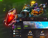ProzArena - Big Redesign / eSports Platform