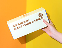 Coffee Gift Box Packaging Design