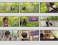 Sequential Art - Comics / Storyboard