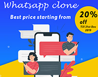 Online chat business with whatsapp clone - Hurry up!!11