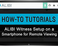 How to Setup Alibi Witness on a Smartphone