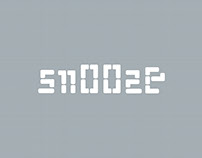 SNOOZE — typeface