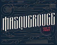 FREE | Masquerouge Typeface